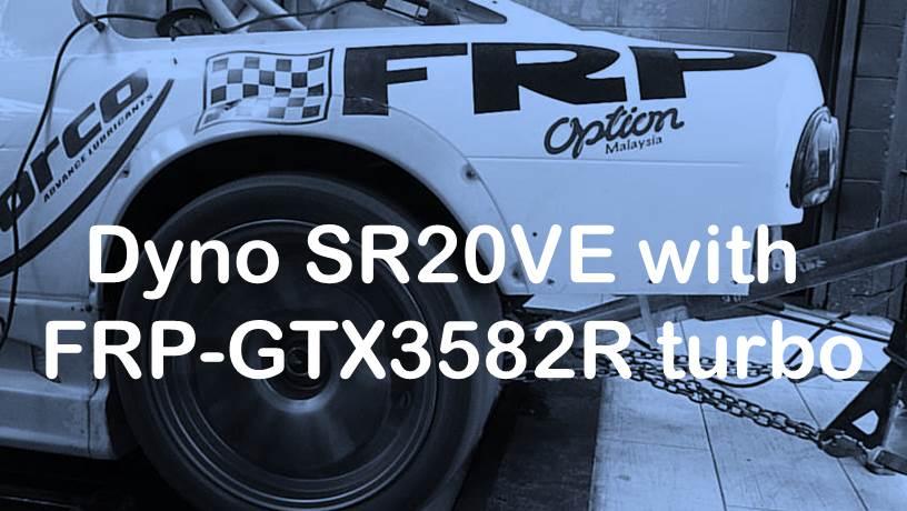 dyno-tuning-nissan-sr20ve-frp-gtx3582r-turbo-trial-run